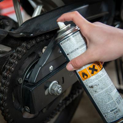 Motorbike maintenance